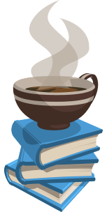 Drinking coffee while reading is a great way to relax and have a productive morning routine.